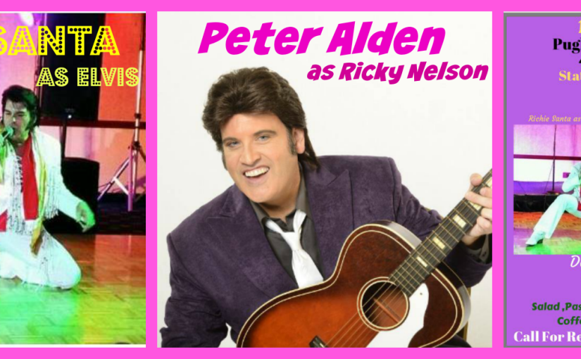 Staten Island Dinner Show Featuring Richie Santa as Elvis and Peter Alden as Ricky Nelson August 20th 6pm