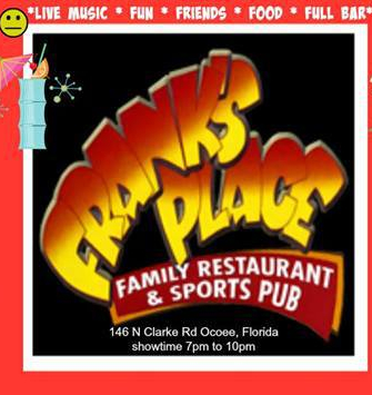 Frank's Place Ocoee with Steve Brannon December 20, 2017