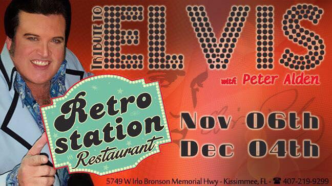 Elvis night at RetroStation