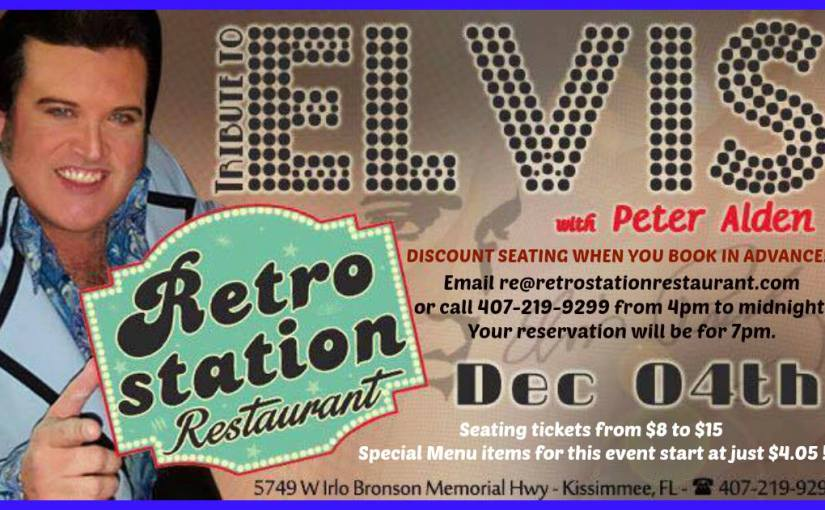 Elvis Tribute plus Toby Keith Tribute by Dan Spencer December 4th 2017