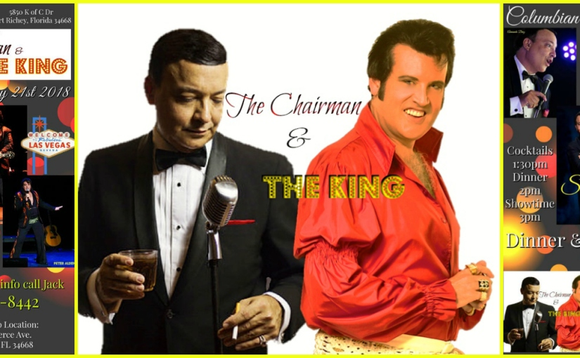 Chairman and the King Sunday January 21st 2018 Columbian Event Center Port Richey FL