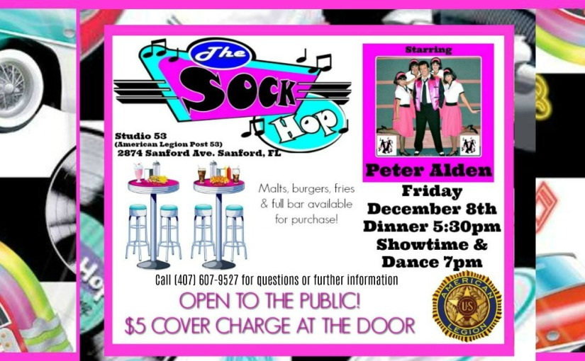 Sock Hop at Studio 53 December 8th 2017