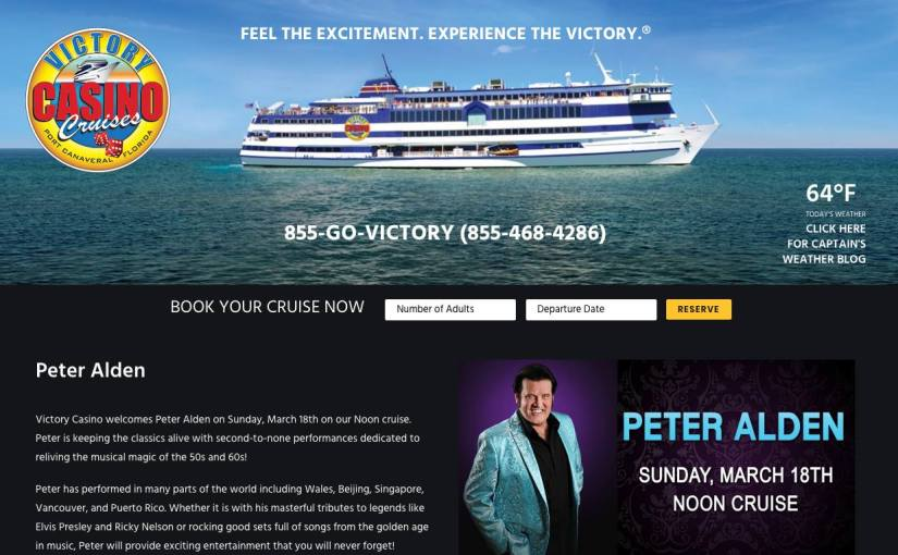 Victory Casino Cruise Sunday, March 18 2018 at 12 PM – 3 PM