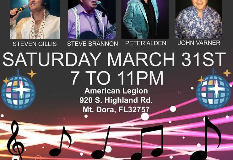 Cheryl Brown Elvis and Friends March 31st 2018 7pm