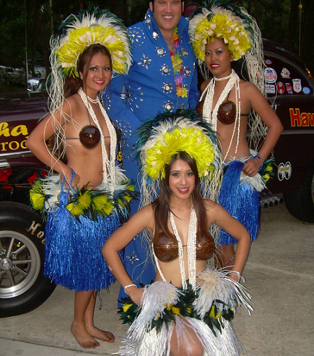 Blue Hawaii Elvis Dinner Show… June 15th