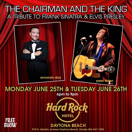 The Chairman and The King… June 25th & 26th 2018 6-9pm