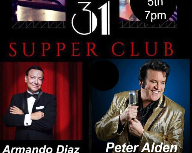 Elvis at 31 Supper Club… September 5th,2018