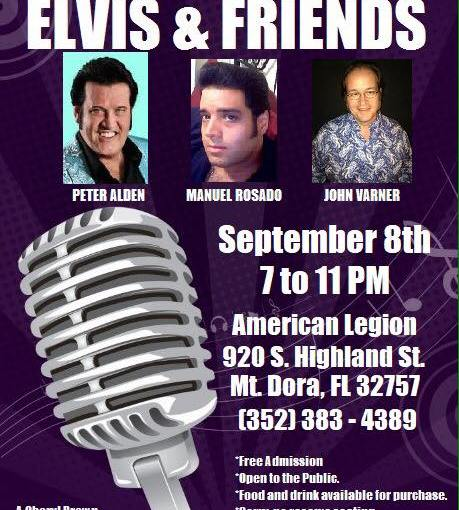 Cheryl Brown's Elvis and Friends… September 8th, 2018