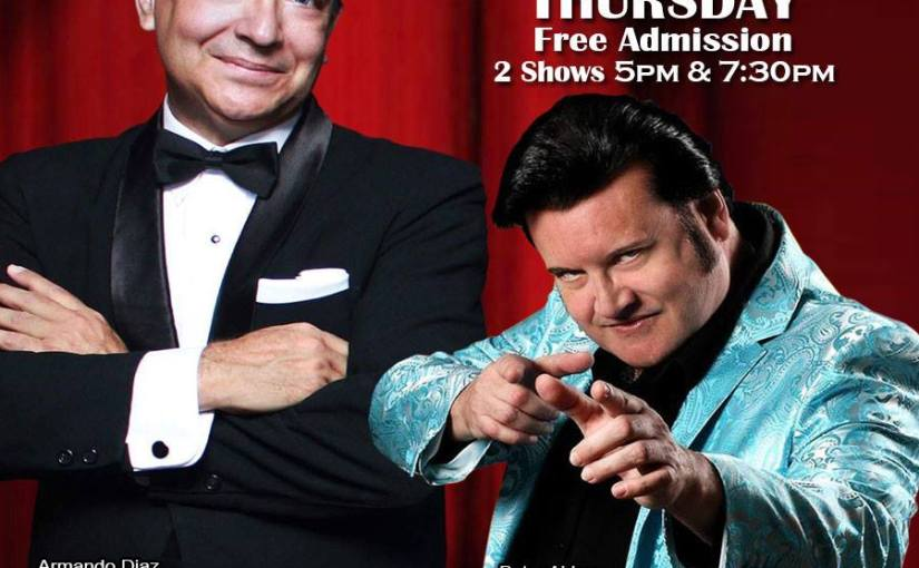 The Chairman & The King- Sinatra and Elvis… September 13th, 2018