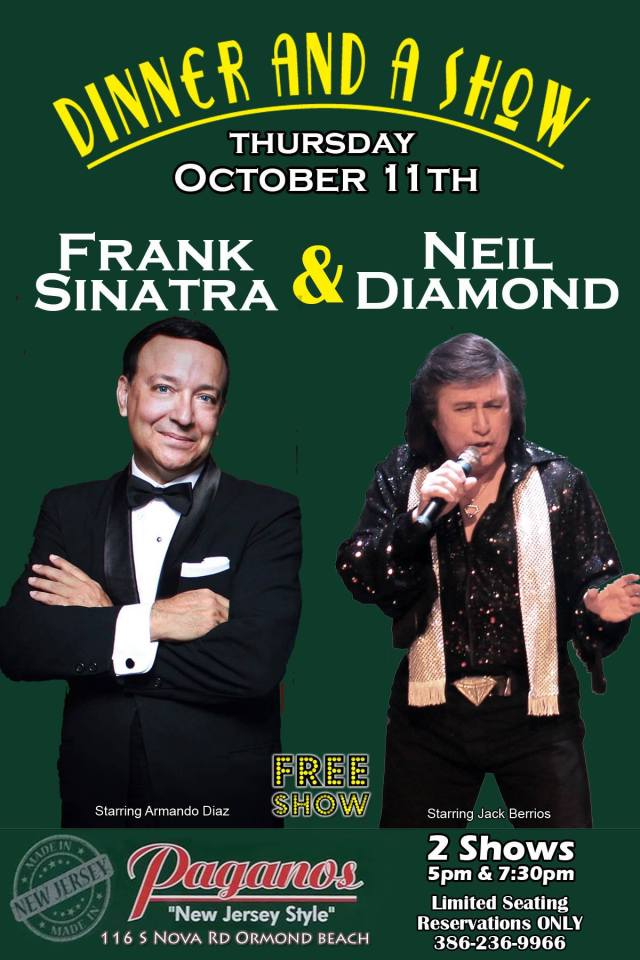 Sinatra and Diamond Dinner and Show