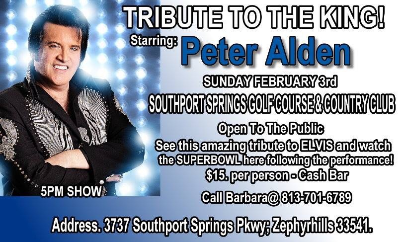 Tribute to the King! Southport Springs Golf Course & Country Club February 3rd 2019