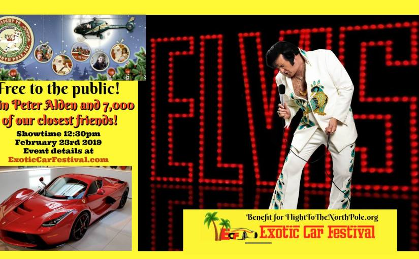 Elvis Charity Event… Saturday, February 23, 2019