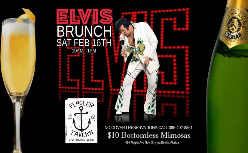 "Elvis ""Love Me Tender"" Brunch… February 16, 2019"