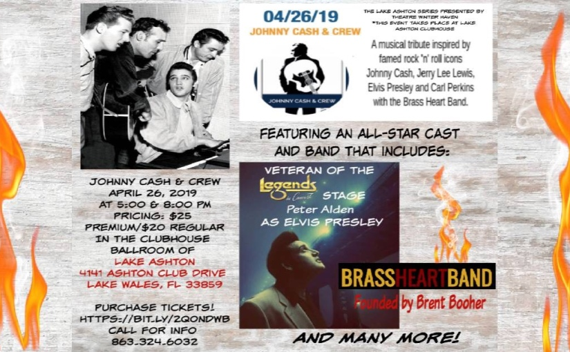 Johnny Cash and Crew… April 26,2019