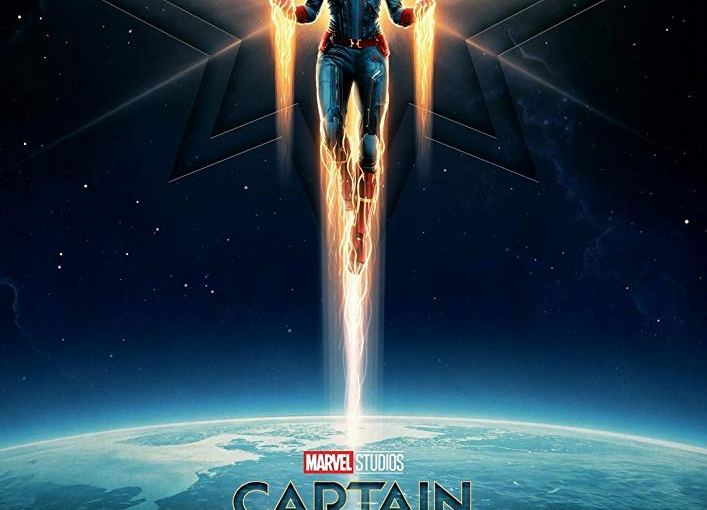 """Peter Alden's Review of the Film """"CaptainMarvel"""""""