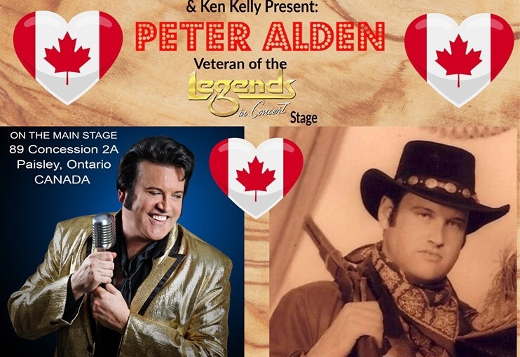 The Bruce County Heritage Association and Ken Kelly Presents  Peter Alden at the Heritage Farm Show… August 17, 2019