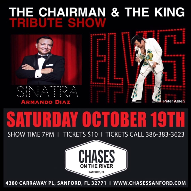 The Chairman & The King Tribute Show