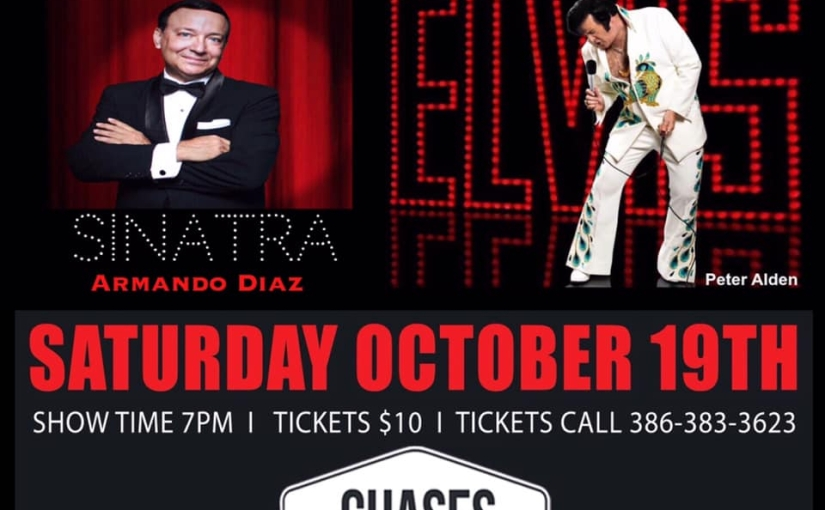 The Chairman & The King Tribute Show Saturday October, 19 2019