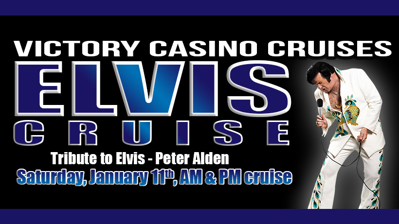 Put On Your Blue Suede Shoes for Peter Alden on the Victory Casino Cruise January 11th2020